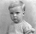Keith Cox (aged 2)
